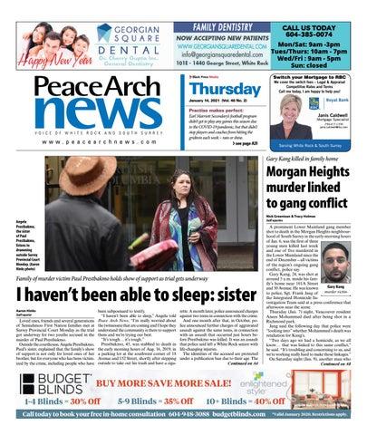 Peace Arch News, January 14, 2021