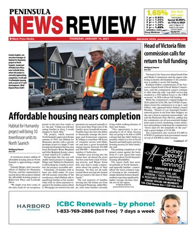 Peninsula News Review, January 14, 2021