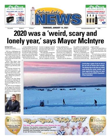 Sylvan Lake News, January 14, 2021