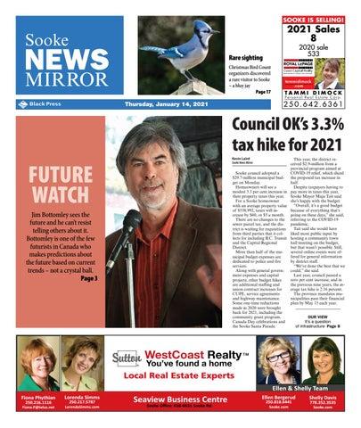 Sooke News Mirror, January 14, 2021