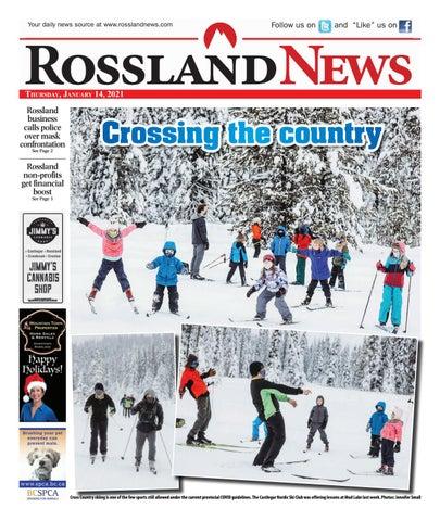 Rossland News/West Kootenay Advertiser, January 14, 2021