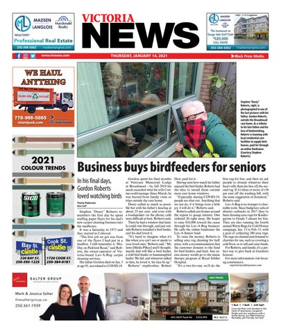 Victoria News, January 14, 2021