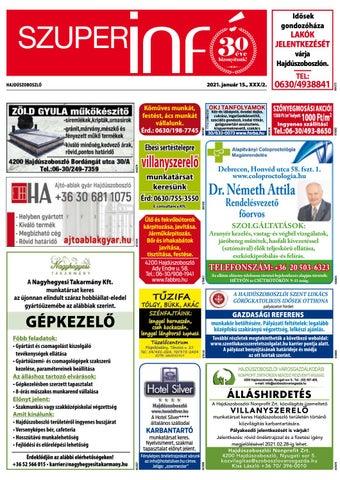 Hajduszoboszlo 2021.01.15