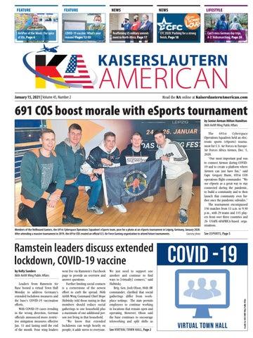 Kaiserslautern American - January 15, 2021