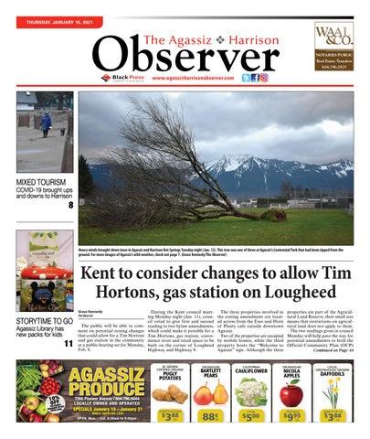 Agassiz Observer, January 15, 2021