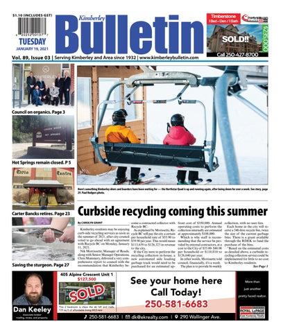 Kimberley Daily Bulletin, January 19, 2021