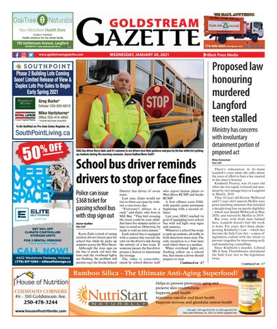 Goldstream News Gazette, January 20, 2021
