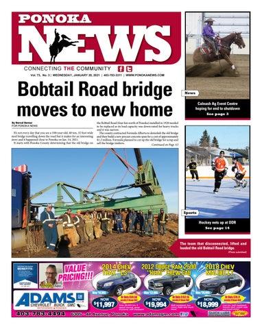 Ponoka News, January 20, 2021