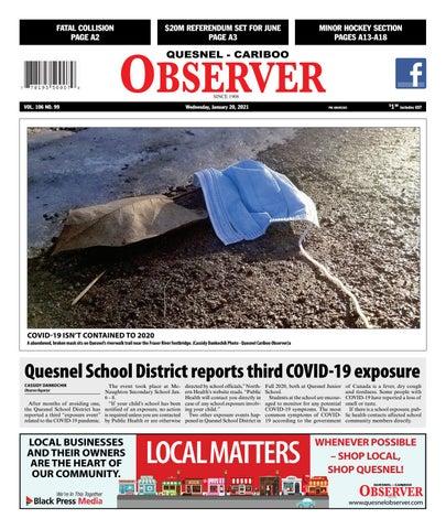 Quesnel Cariboo Observer, January 20, 2021