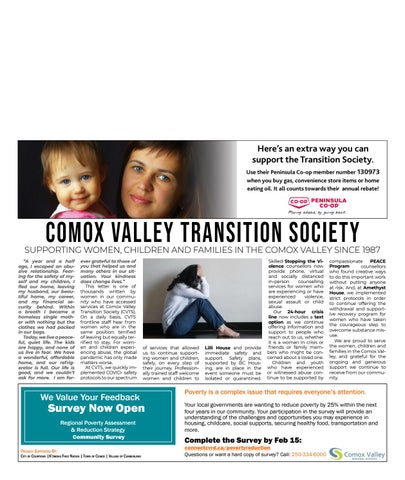 January 20, 2021 Comox Valley Record