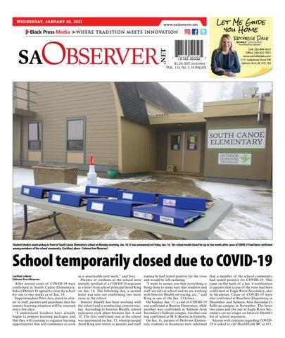 Salmon Arm Observer, January 20, 2021