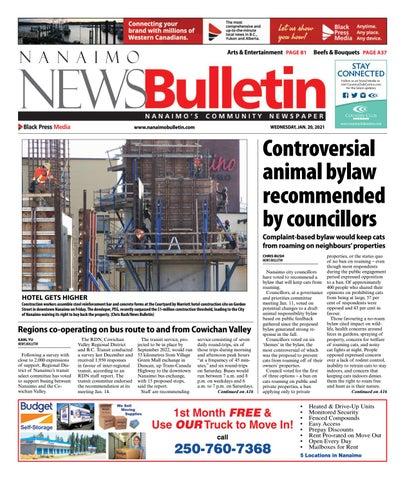 Nanaimo News Bulletin, January 20, 2021