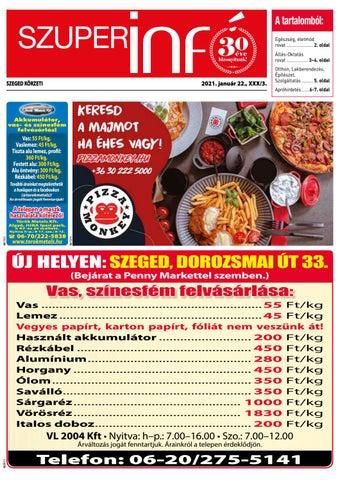 Szeged 2021.01.22