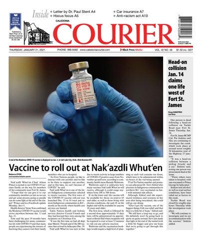 Caledonia Courier/Stuart Nechako Advertiser, January 21, 2021