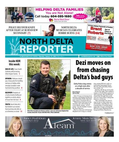 North Delta Reporter, January 21, 2021