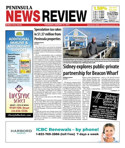 Peninsula News Review, January 21, 2021