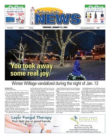 Sylvan Lake News, January 21, 2021