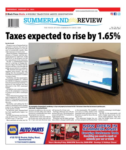 Summerland Review, January 21, 2021