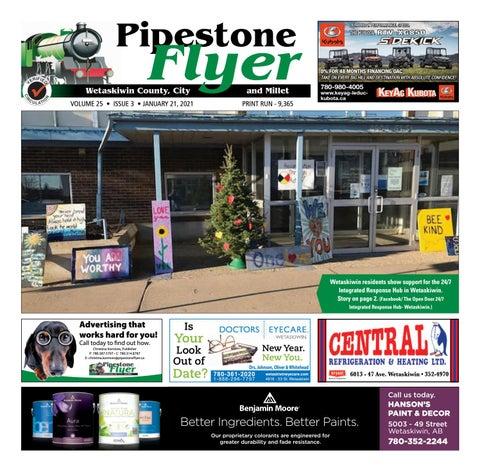 Wetaskiwin/Millet Pipestone Flyer, January 21, 2021