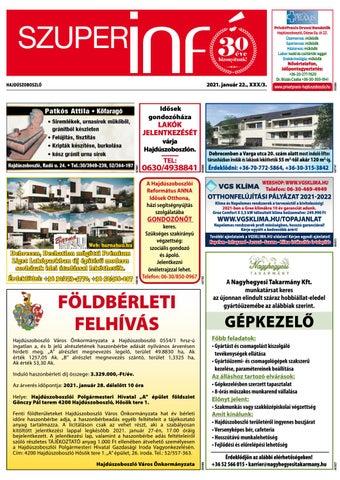 Hajduszoboszlo 2021.01.22