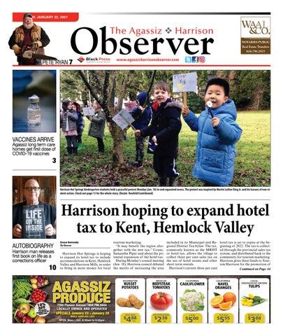 Agassiz Observer, January 22, 2021