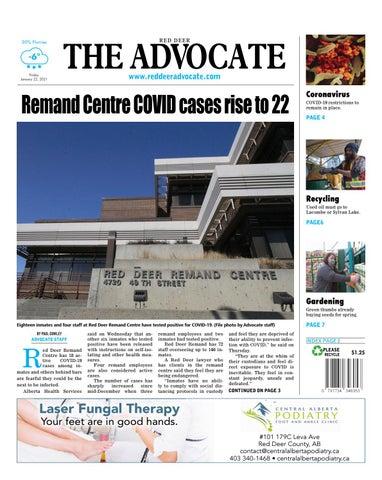 Red Deer Advocate, January 22, 2021