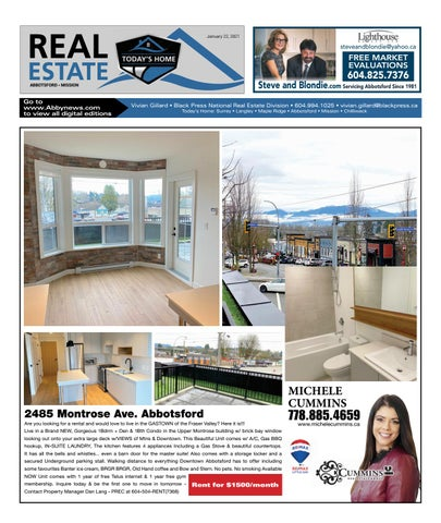 January 22, 2021 Real Estate Weekly - Abbotsford