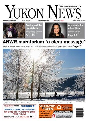 Yukon News, January 22, 2021