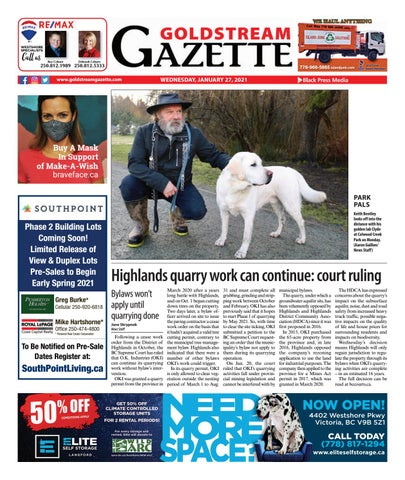 Goldstream News Gazette, January 27, 2021