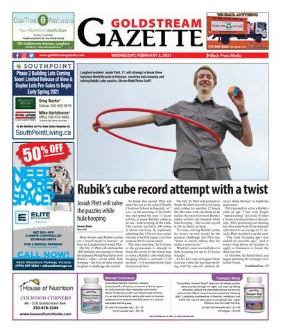 Goldstream News Gazette, February 3, 2021