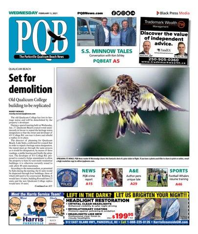 Parksville Qualicum Beach News, February 3, 2021