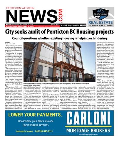 Penticton Western News, February 3, 2021