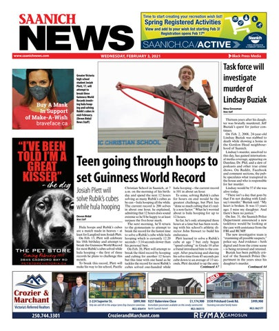 Saanich News, February 3, 2021