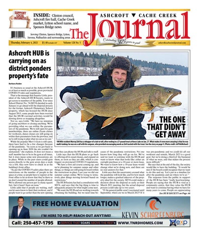 Ashcroft Cache Creek Journal, February 4, 2021