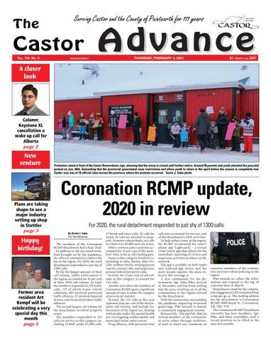 Castor Advance, February 4, 2021