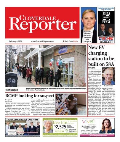 Cloverdale Reporter, February 4, 2021