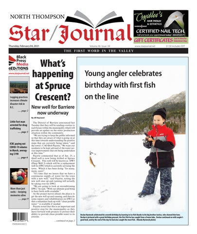Barriere Star Journal, February 4, 2021