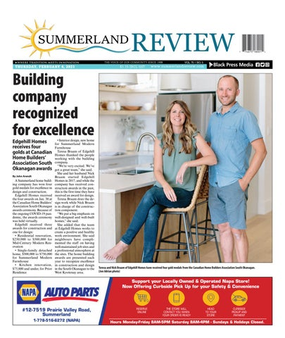 Summerland Review, February 4, 2021