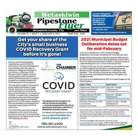 February 04, 2021 Pipestone Flyer