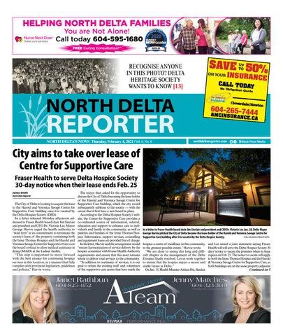 North Delta Reporter, February 4, 2021