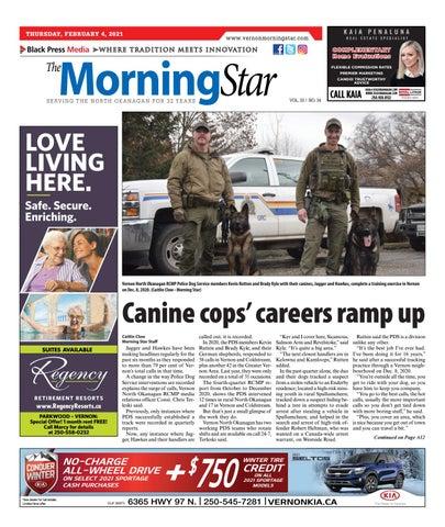 Vernon Morning Star, February 4, 2021