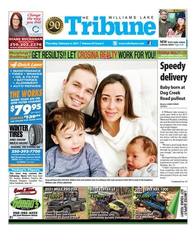 Williams Lake Tribune, February 4, 2021