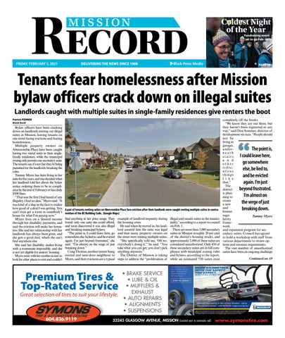 Mission City Record, February 5, 2021