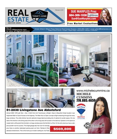February 05, 2021 Real Estate Weekly - Abbotsford