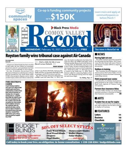 Comox Valley Record, February 10, 2021
