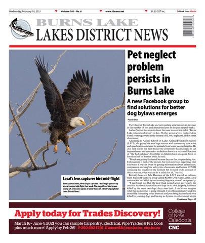 Burns Lake Lakes District News, February 10, 2021