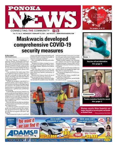 Ponoka News, February 10, 2021