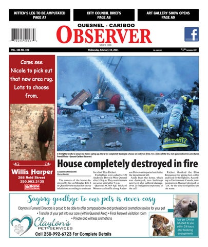 Quesnel Cariboo Observer, February 10, 2021