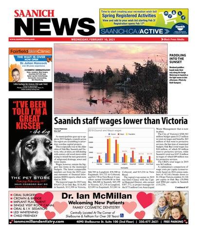 Saanich News, February 10, 2021