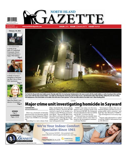 North Island Gazette, February 10, 2021